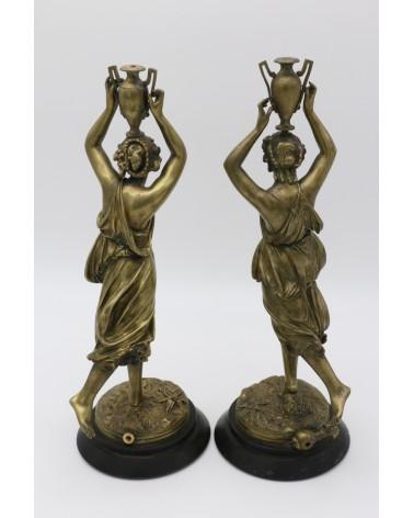 Statuette en bronze