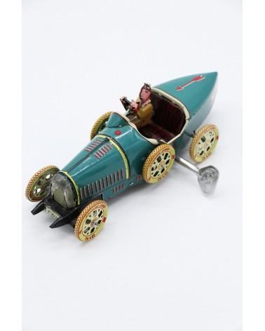 Jouet mécanique à clé Bugatti T35 Paya