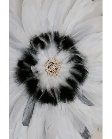 Juju-hat gris et blanc