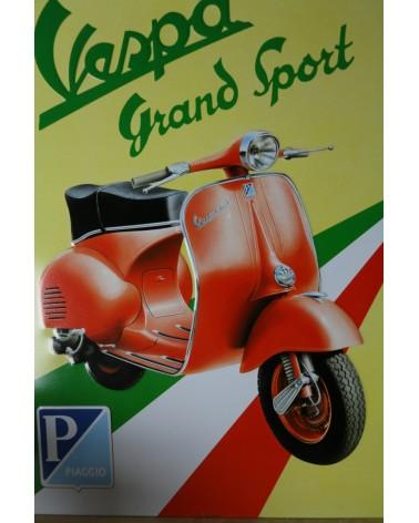 plaque publicitaire Vespa