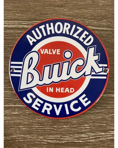 Plaque émaillée Buick