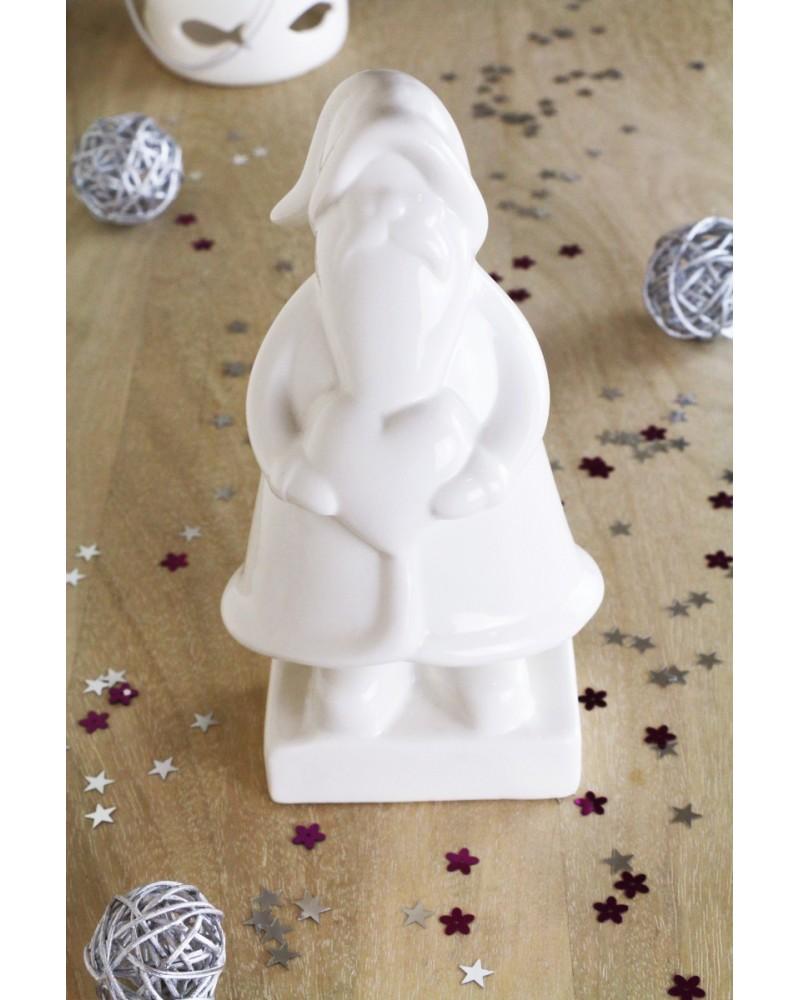 Père Noel en faience