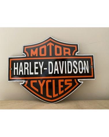 Plaque émaillée Harley-Davidson