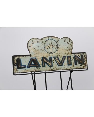 Porte-tablettes chocolat Lanvin
