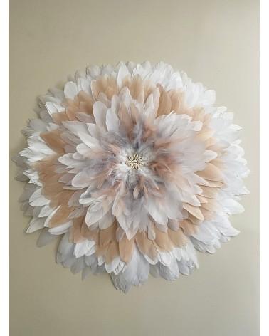 Juju hat rose et blanc