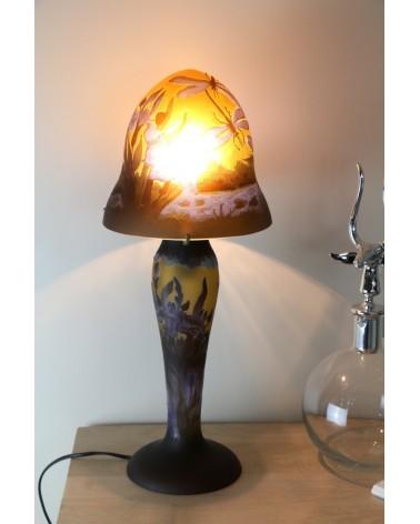lampe en pâte de verre