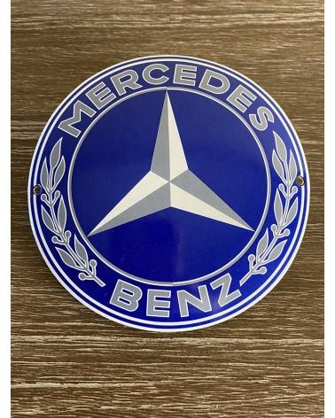 Plaque émaillée Mercedes Benz