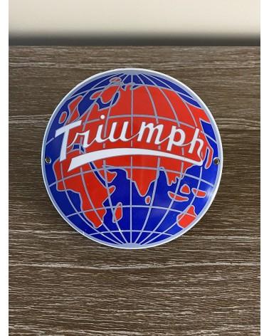 Plaque émaillée Triumph