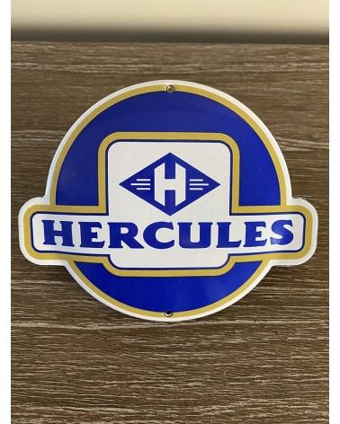 Plaque émaillée Hercules