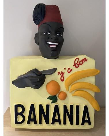Buste publicitaire Banania