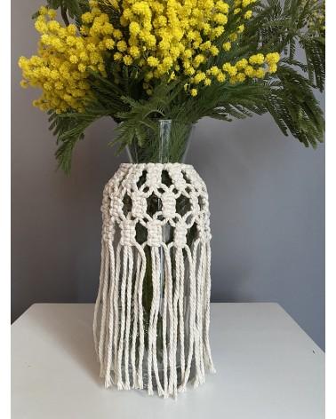 Vase macramé