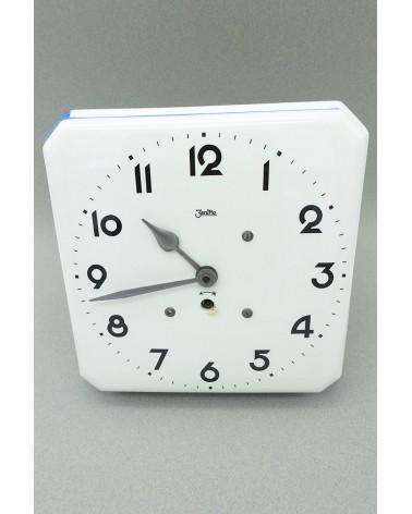 Horloge Zentra angles bleu