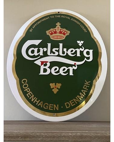 Plaque émaillée Calsberg Beer