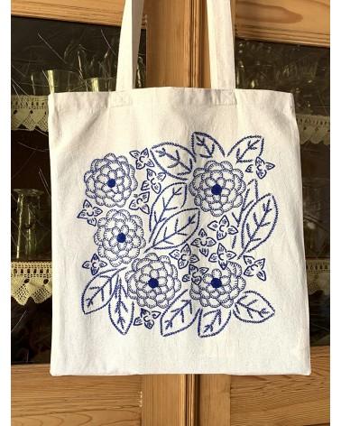 kit Tote bag à broder Méli-mélo de fleurs Ingo Weisbarth