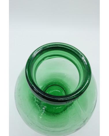 Goulot d'une bonbonne vintage en verre