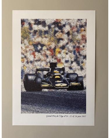 Affiche course automobile Grand Prix de l'Âge d'Or 2005
