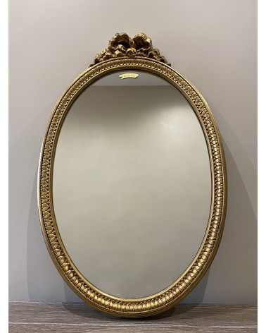 Miroir doré nœud