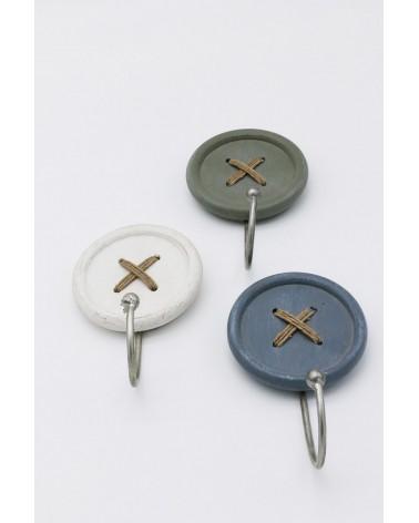 Porte-torchons bouton original