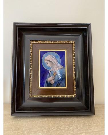 Emaux de Limoges la Vierge - Pierre Bonnet