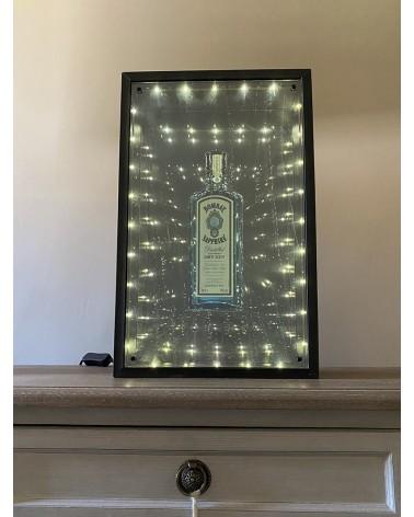 Enseigne lumineuse Bombay Sapphire
