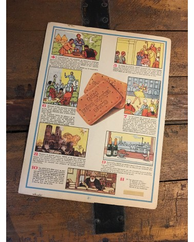 Protège-cahier Biscuits REM