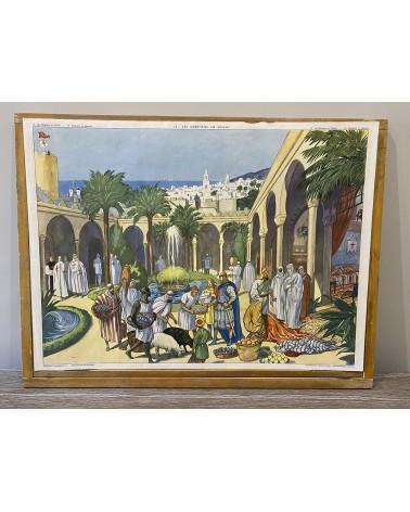 Affiche scolaire Rossignol 13-Les Chrétiens d'Orient/14-Seigneurs et paysans