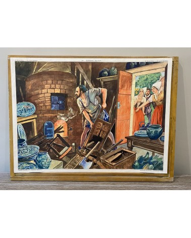 Affiche scolaire Rossignol 29-Bernard Palissy/30-La Saint Barthélémy
