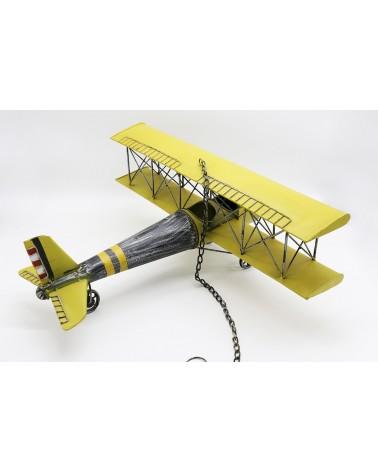 Avion déco à suspendre