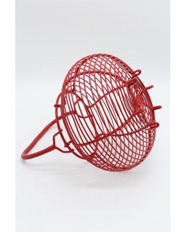 Panier à œuf rouge