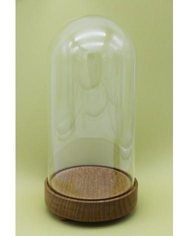 Globe vintage avec socle en bois