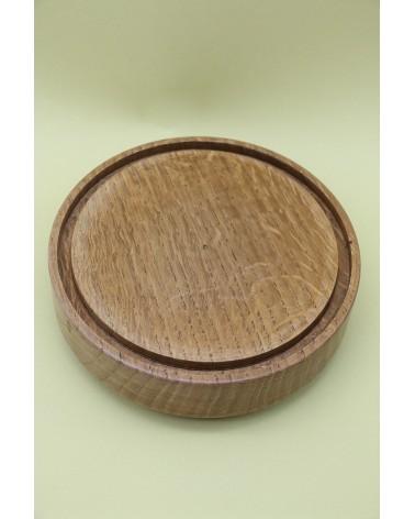 Globe avec socle en bois