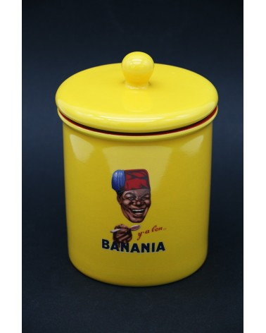 Petit pot Banania éditions Clouet
