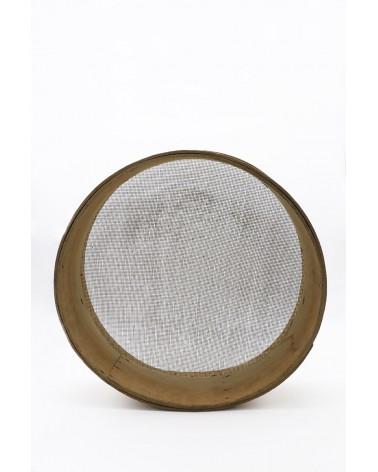 Tamis bois avec treillis métallique