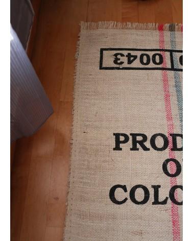 sac de grain de café en tapis