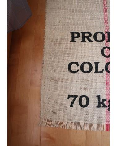 tapis sac de grains de café