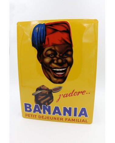 plaque publicitaire Banania j'adore
