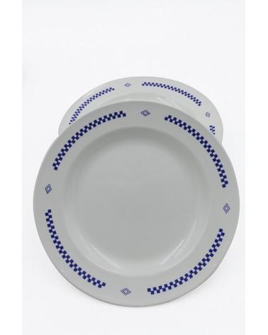 Assiettes plates Lustucru