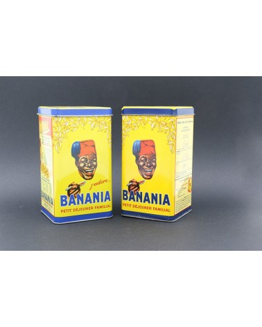 Boîte publicitaire Banania