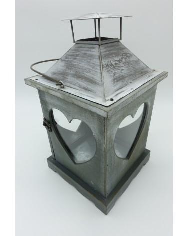 lanterne en bois rétro