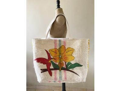 Comment faire un sac cabas avec un sac de grain de café ?