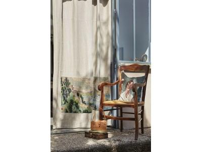Comment customiser un rideau avec du canevas ?