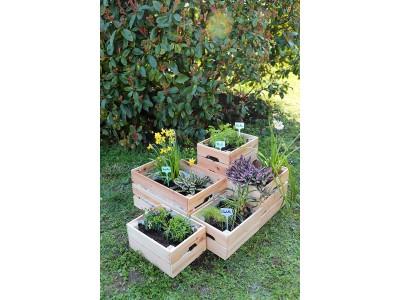 Comment faire une jardinière avec des caisses en bois ?